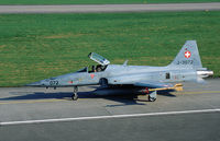 J-3072 @ LSMP - Swiss AF F-5E Tiger II fighter with registration J-3072 on the taxitrack at Payerne AB, Switzerland. - by Nicpix Aviation Press/Erik op den Dries
