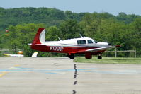 N1159P @ I19 - 1982 Mooney M20J - by Allen M. Schultheiss
