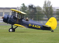 G-AAOK @ EGBP - at the Great Vintage Flying Weekend - by Chris Hall