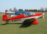 G-BKDX @ EGHP - GREAT SPRING DAY AT POPHAM - by BIKE PILOT
