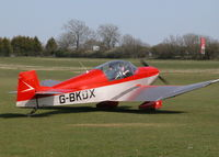 G-BKDX @ EGHP - TAXYING TO RWY 26 - by BIKE PILOT