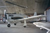 N300JH @ KSCH - North American T-28B at Schenectady county airport
