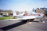N74106 @ KSCH - Strat M-21 at the Empire State Aerosciences Museum, Schenectady NY