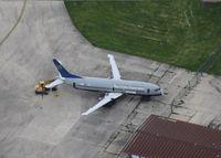 N353UA @ KRFD - Boeing 737-300