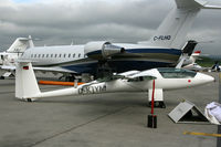 D-KJYM @ LSGG - LSGG  In the EBACE 2010 static display