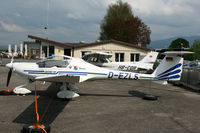 D-EZLS @ FRIBOURG - Fribourg Airport - by Nick Dean