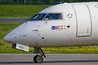 LN-RNL @ ELLX - SAS CRJ-900 taxying to the active - by Friedrich Becker