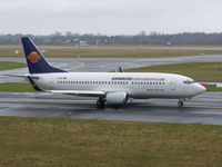 D-AHIG @ EDDL - Taxiing to rw25L - by ghans