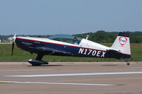 N170EX @ NFW - At the 2010 NAS-JRB Fort Worth Airshow