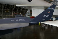 87-0800 @ FFO - In the R&D hangar of the National Museum of the USAF.