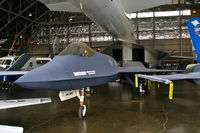 87-0800 @ FFO - In the R&D hangar of the National Museum of the USAF. - by Glenn E. Chatfield