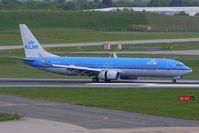 PH-BXP @ EGBB - KLM B737 -900 Series landing at Birmingham