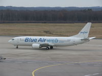 YR-BAD @ EDDK - Blue Air