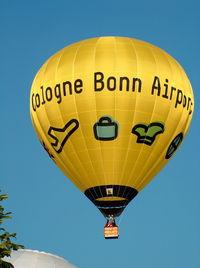 D-OCGN @ WARS - Cologne-Bonn Airport - by ghans