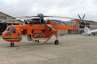 N217AC @ YMEN - Sikorsky S-64E Sky Crane [64-064] Essendon~VH 20/03/2007. On bush fire duty.