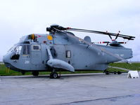 XV371 @ EGDR - Westland Sea King HAS1, With the School of Flight Deck Operations at RNAS Culdrose - by Chris Hall