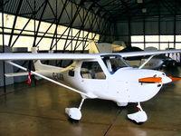 G-UJGK @ EGDR - in the GA hangar at Culdrose - by Chris Hall