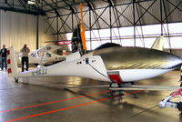G-HAJJ @ EGDR - in the GA hangar at Culdrose - by Chris Hall