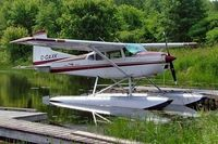 C-GAXK @ CNJ4 - Seen here at Orillia one month later force landed in a swampy area near Orillia on 19-07-2005 and was cancelled as destroyed. - by Ray Barber