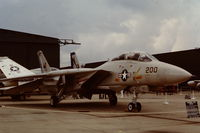 159859 @ EGDY - Coded 200/NH from VF-213. Part of the USS America Carrier Air Wing attending the RNAS Yeovilton Naval Air Day 1979 - by Roger Winser
