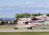 C-FDHX @ CYZH - Slave LAke Fire Base - by William Heather