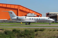 A9C-BAH @ EGGW - Gulfstream 4 at Luton - by Terry Fletcher