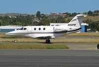 N110PR @ KCCR - 2002 Raytheon Aircraft Company 390 arriving from KCRQ (HI BILL!) - by Steve Nation