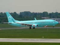 TC-SUZ @ EDDL - Sun Express; Boeing 737-8HX