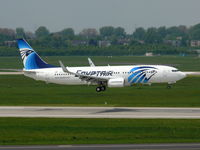 SU-GDB @ EDDL - Egyptair; Boeing 737-866