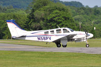 N58PV @ KFDK - Seen at KFDK on 5/20/2010. - by concord977