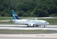 C-FBWS @ TPA - West Jet 737-700