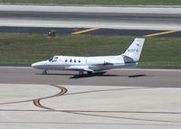 N10FG @ TPA - Cessna 500 - by Florida Metal