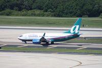 N308AT @ TPA - Air Tran 737-700