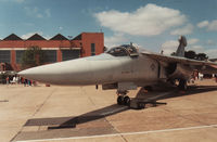 67-0032 @ MHZ - Another view of the EF-111A Raven from RAF Upper Heyford's 42nd Electronic Combat Squadron on display at the 1989 RAF Mildenhall Air Fete. - by Peter Nicholson