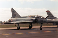 510 @ MHZ - Mirage 2000B of French Air Force's EC 02.002 on the flight-line at the 1989 RAF Mildenhall Air Fete. - by Peter Nicholson