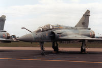 510 @ MHZ - Another view of the EC 02.002 Mirage 2000B on the flight-line at the 1989 RAF Mildenhall Air Fete. - by Peter Nicholson