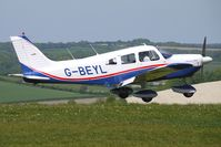 G-BEYL @ EGHA - 1974 Piper PIPER PA-28-180 at Compton Abbas on 2010 French Connection Fly-In Day