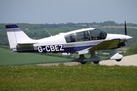 G-CBEZ @ EGHA - 2002 Constructions Aeronautiques De Bourgogne ROBIN DR400/180 at Compton Abbas on 2010 French Connection Fly-In Day