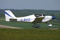 G-BVIZ @ EGHA - 1996 Punter Tj And Jeffers Pg EUROPA at Compton Abbas on 2010 French Connection Fly-In Day