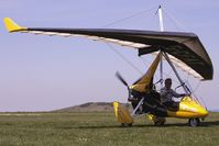 G-CFAT @ EGHA - Microlight at Compton Abbas on 2010 French Connection Fly-In Day