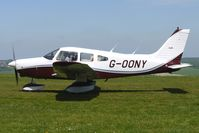 G-OONY @ EGHA - 1983 Piper PIPER PA-28-161 at Compton Abbas on 2010 French Connection Fly-In Day