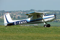 G-AWAX @ EGHA - a 1963 Cessna CESSNA 150D at Compton Abbas on 2010 French Connection Fly-In Day