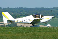 G-CCJX @ EGHA - 2006 Baranski Js EUROPA XS at Compton Abbas on 2010 French Connection Fly-In Day