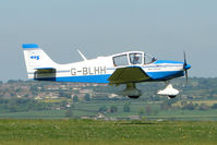 G-BLHH @ EGHA - 1968 Centre Est Aeronautique CEA DR315 at Compton Abbas on 2010 French Connection Fly-In Day