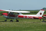G-BCVG @ EGHA - 1974 Reims Aviation Sa REIMS CESSNA FRA150L, at Compton Abbas on 2010 French Connection Fly-In Day