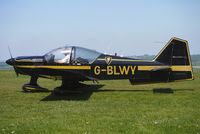 G-BLWY @ EGHA - 1980 Avions Pierre Robin PIERRE ROBIN R2160 at Compton Abbas on 2010 French Connection Fly-In Day