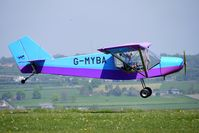 G-MYBA @ EGHA - at Compton Abbas on 2010 French Connection Fly-In Day
