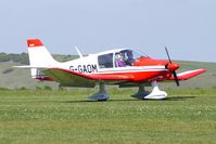 G-GAOM @ EGHA - 1977 Avions Pierre Robin CEA DR400/2+2 at Compton Abbas on 2010 French Connection Fly-In Day