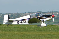 G-AXLS @ EGHA - 1959 Societe Aeronautique Normande JODEL DR105A at Compton Abbas on 2010 French Connection Fly-In Day