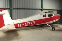 G-APXY @ EGHA - 1960 Cessna CESSNA 150 at Compton Abbas base